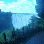 The Falls from the Zimbabwe side