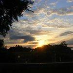 Sunset on Lough Sheelin