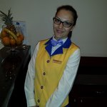 Waitress in premium restarant