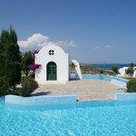 La petite chapelle près de la piscine