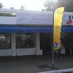 The Dive Shop and the training center