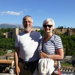 The Alhambra in the background