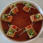 Agedashi Tofu appetizer