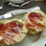 Jam and Cream Scone
