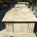 The memorial in sunnier weather 1