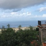 Wonderful view over the Gulf of Naples