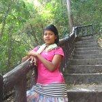 Une des fillettes thaï qui nous a servie de guide