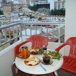 Ужин (завтрак) с видом на море