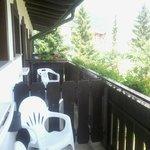 balcone camera con bellissima vista