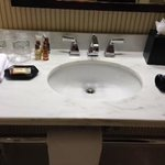 Beautiful Vanity/sink area
