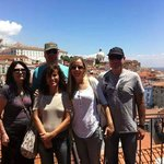 Nice people from Israel in St. Luzia, Lisbon