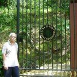 The main gate at Tasek Lama