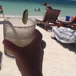 Margarita at the beach