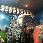 Ten head Ravan at Panchavati
