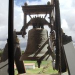 The bell, symbolic and assumed part of the monks in the Ecuadorian andes mountain.
