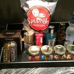 Some mini-bar items