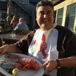 My lobster - before