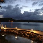 Mamora Bay by Docksiders at night