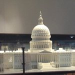 A fine model of the US Capitol