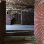 The original bricks and granite throughout