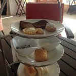 afternoon tea in the Clubhouse