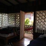 3 beds, 1 hammock, no a/c  Perfect!