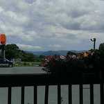 Great view of Blue Ridge Mountains