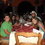 Dining fun at Las Marias - fun for all ages!