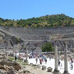 Ephesus Amphitheater one of the biggest in the ancient world with 24.000 person capacity