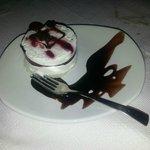 Vanilla Cherry and Chocolate Dessert
