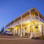CA Historical Landmark #663 Calaveras County Courthouse and Leger Hotel