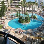 pool veiw from room