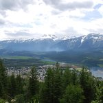 View from Revelstoke Mountain into Revelstoke