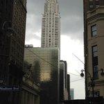Looking down 42nd street