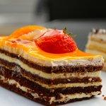 Damascena boasts a big selection of cakes