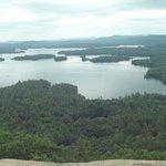 panorama from Rattlesnake