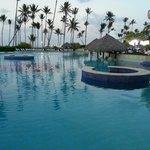Half of the pool...