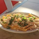 NEW Appetizer: Loaded Crabby Fries