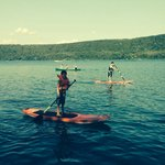 Canoeing and stand up paddle boarding a wonderful amenity!!