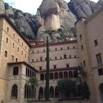part of the monastery complex at Montserrat