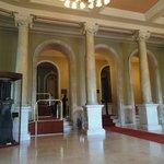 Salão de entrada do museu