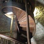 Schody na szczyt wieży