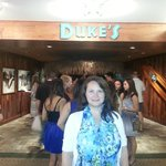 Outside Duke's Waikiki