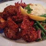 Sesame crusted jumbo shrimp