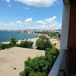 3rd floor balcony. looking towards the town