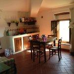 Kitchenette in Il Pino Apartment