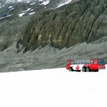 The bus to the glacier.
