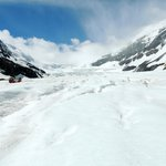 On the glacier (via the Ice Walk tour--not sponsored by the Icefield Centre)