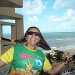 Recebendo a brisa do mar de Pernambuco