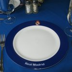 Real Madrid plates have nothing to do with football